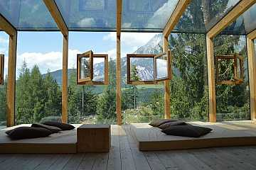 Parete vetrata esterna