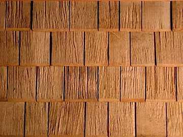 Tegole in legno per tetti