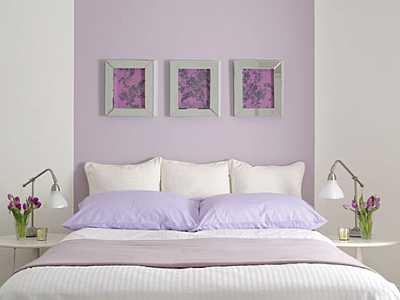 foto articolo colore lilla per pareti