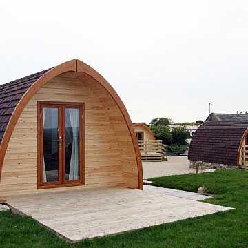 bungalow per campeggio