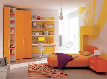 foto articolo colori pareti camerette