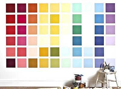 Foto articolo colori per pareti