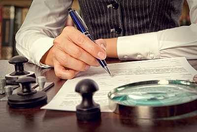 foto principale per articolo elaborazione degli atti notarili