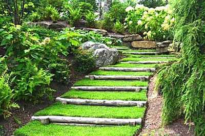 Foto articolo giardini in pendenza