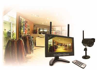 Foto articolo kit di videosorveglianza wireless