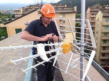 foto articolo come montare un antenna tv