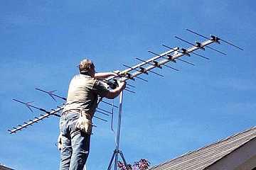 foto articolo come orientare un antenna tv