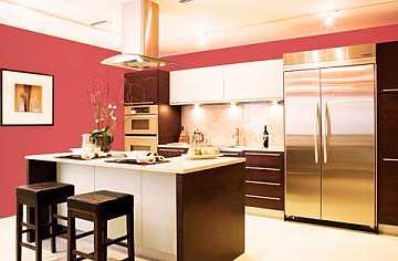 foto articolo come colorare le pareti della cucina