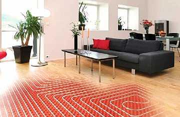 Foto articolo riscaldamento radiante pavimento