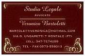 Avvocato Veronica Bartoletti