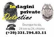 DETECTIVE INVESTIGAZIONI AGENZIA DI INVESTIGAZIONI