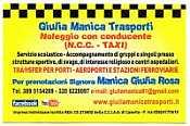 GIULIA MANICA TRASPORTI