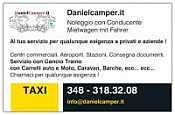 TAXI NCC DANIELCAMPER NOLEGGIO CON CONDUCENTE