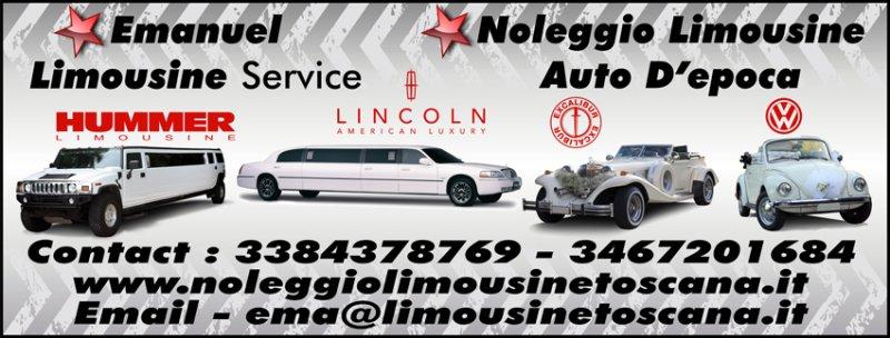 Noleggio limousine toscana Foto 3