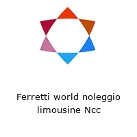 Ferretti world noleggio limousine Ncc