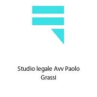 Studio legale Avv Paolo Grassi