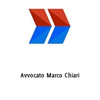 Avvocato Marco Chiari