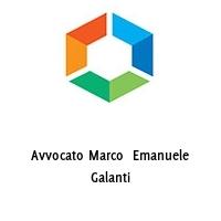 Avvocato Marco  Emanuele Galanti