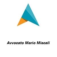 Avvocato Mario Miscali