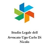 Studio Legale dell Avvocato Ugo Carlo Di Nicolo