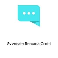 Avvocato Rossana Crotti