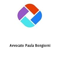 Avvocato Paula Bongiorni