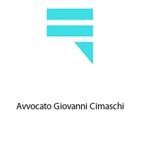 Avvocato Giovanni Cimaschi