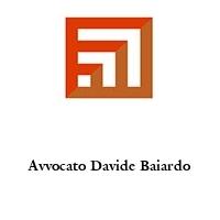 Avvocato Davide Baiardo