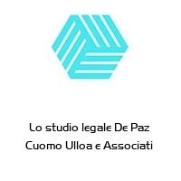 Lo studio legale De Paz  Cuomo Ulloa e Associati