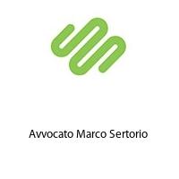Avvocato Marco Sertorio