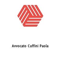 Avvocato Cuffini Paola