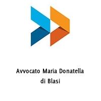 Avvocato Maria Donatella di Blasi