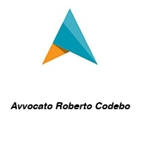 Avvocato Roberto Codebo