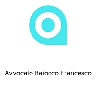 Avvocato Baiocco Francesco