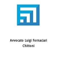Avvocato Luigi Fornaciari Chittoni