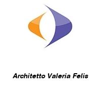 Architetto Valeria Felis