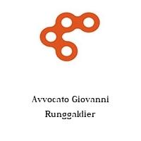 Avvocato Giovanni Runggaldier