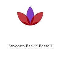 Avvocato Paride Berselli