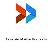 Avvocato Matteo Bertocchi