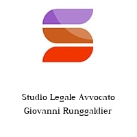 Studio Legale Avvocato Giovanni Runggaldier