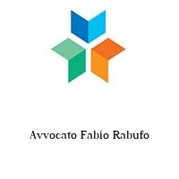 Avvocato Fabio Rabufo