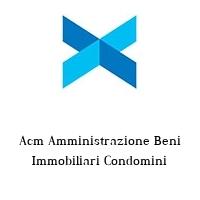 Acm Amministrazione Beni Immobiliari Condomini