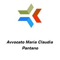 Avvocato Maria Claudia Pantano