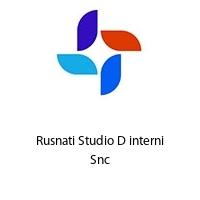 Rusnati Studio D interni Snc