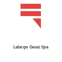 Lafarge Gessi Spa