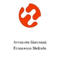Avvocato Giovanni Francesco Meliado