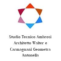 Studio Tecnico Ambrosi Architetto Walter e Carmagnani Geometra Antonella