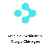 Studio di Architettura Giorgio Chieregato