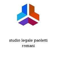 studio legale paoletti romani