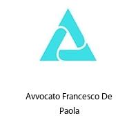 Avvocato Francesco De Paola